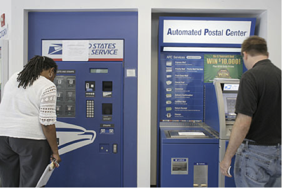 post office machine
