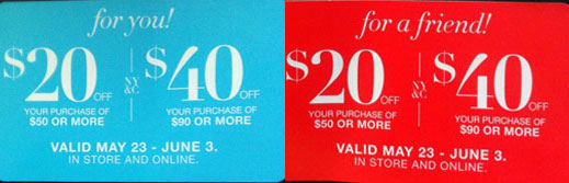 TWO blog: coupon for you and for a friend