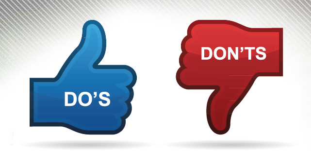 Our TWO Sense: Dos and Dont's of Social Media
