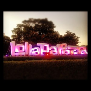 Lollapalooza lights