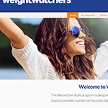 Weight Watchers Website