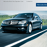 Mercedes Benz Ecommerce Website